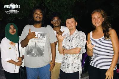 Echte Freunde finden auf den Malediven. Auf einer WELTREISE ist alles möglich. Wie finde ich Freunde auf der Welt?