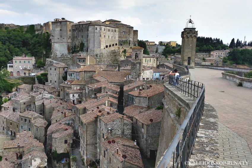 Grosetto, miasteczko na tufie, Toskania, travel, Włochy, Sorano