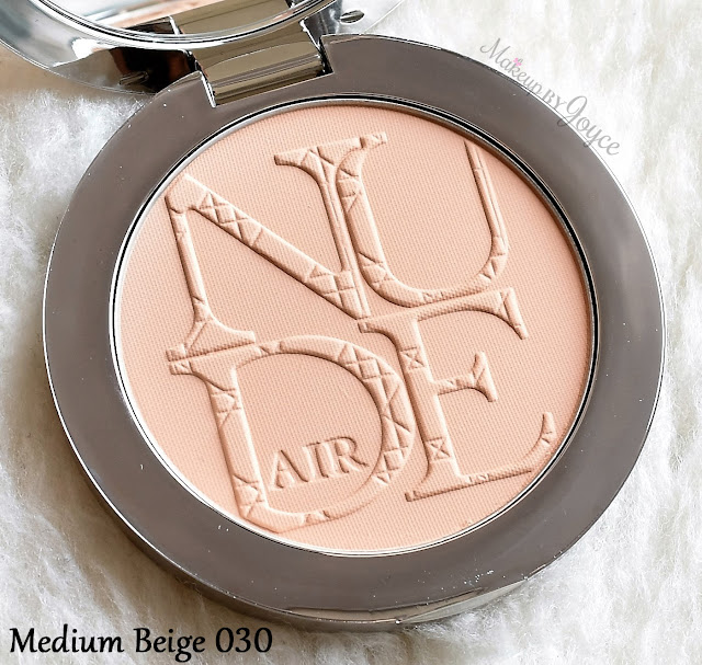 Dior Diorskin Nude Air Healthy Glow Invisible Pressed Powder 030 Medium Beige Review