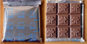 カエルのチョコレート