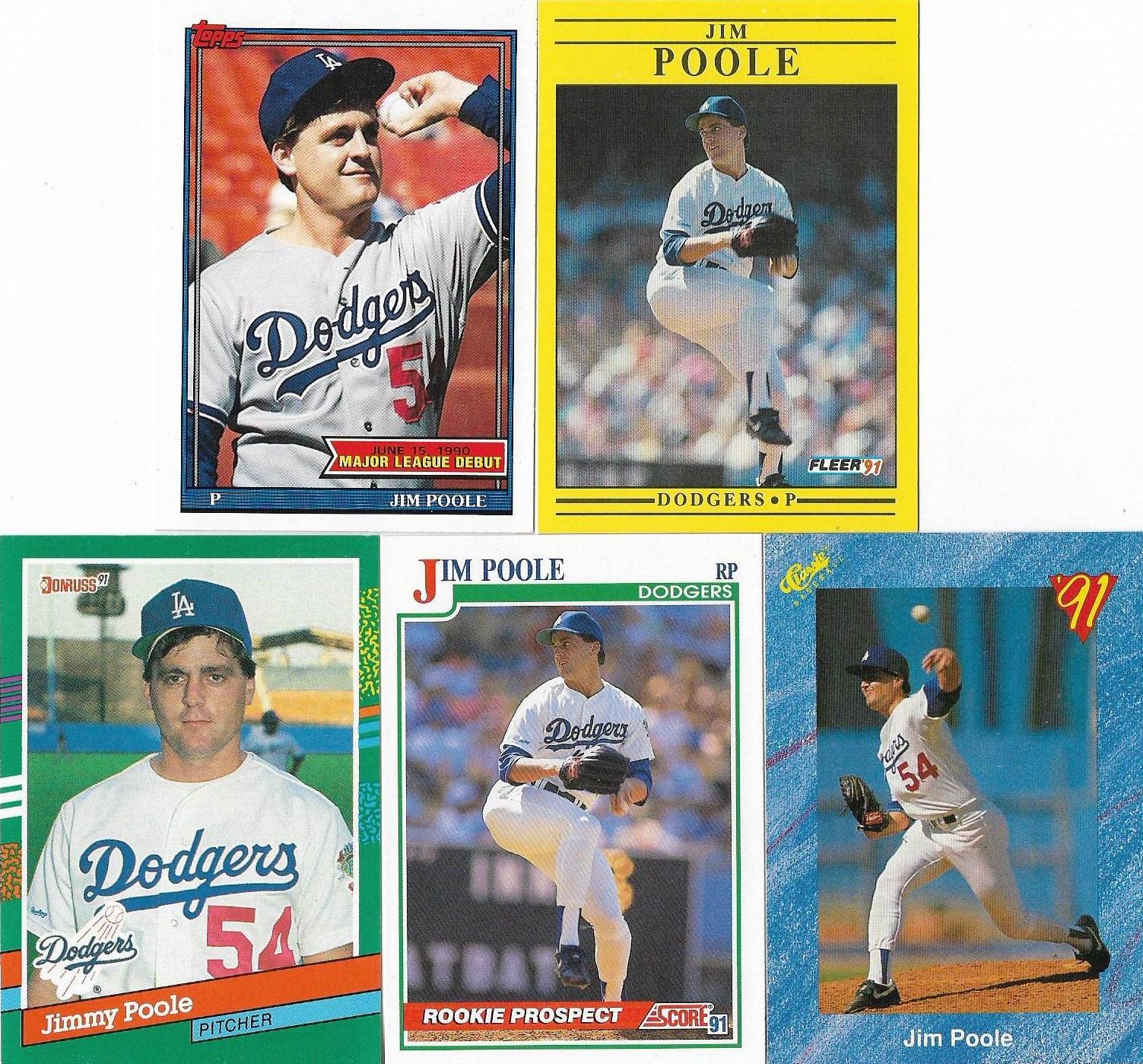 Night Owl Cards: C.A.: 1989 Topps Big Baseball Jim Poole