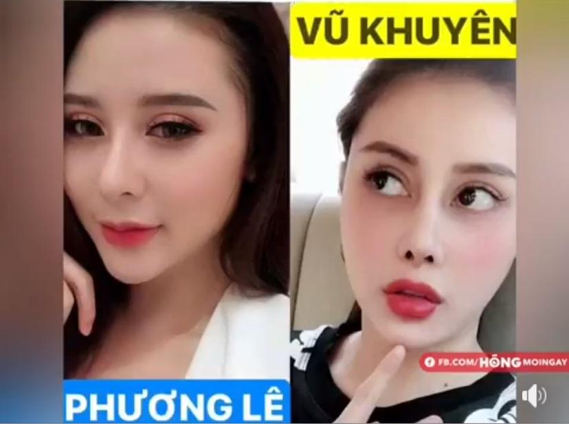 Hot girl Vũ Khuyên và Phương Lê đại chiến