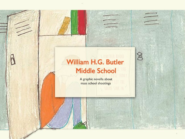 Also releasing in remembrance of the one-year anniversary of the Parkland tragedy is a free, downloadable adaptation of Literary Safari's graphic novella William H.G. Butler Middle School