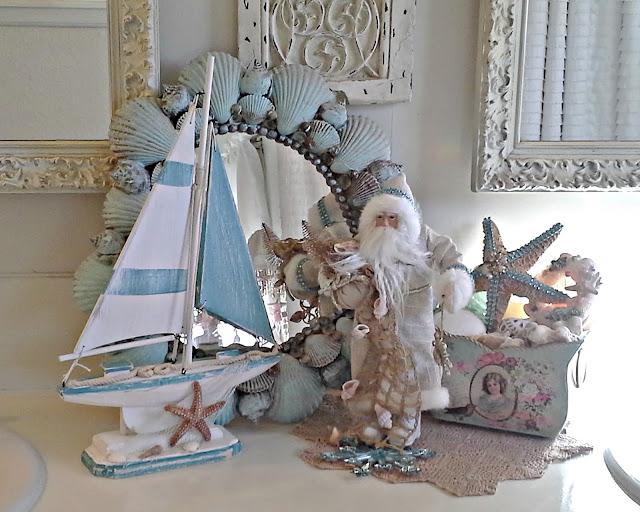 Outstanding Pennys Vintage Home Coastal Christmas Decor Download Free Architecture Designs Saprecsunscenecom