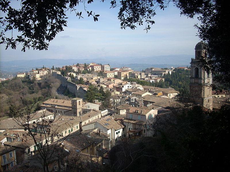 Le terrazze pi belle di Perugia