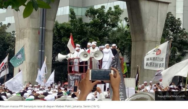 Ormas Islam Resmi Desak Pencopotan Kapolda Jabar