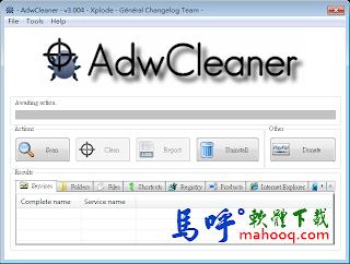 AdwCleaner Portable 免安裝綠色版下載,一鍵移除瀏覽器首頁被綁架、工具列、惡意廣告軟體
