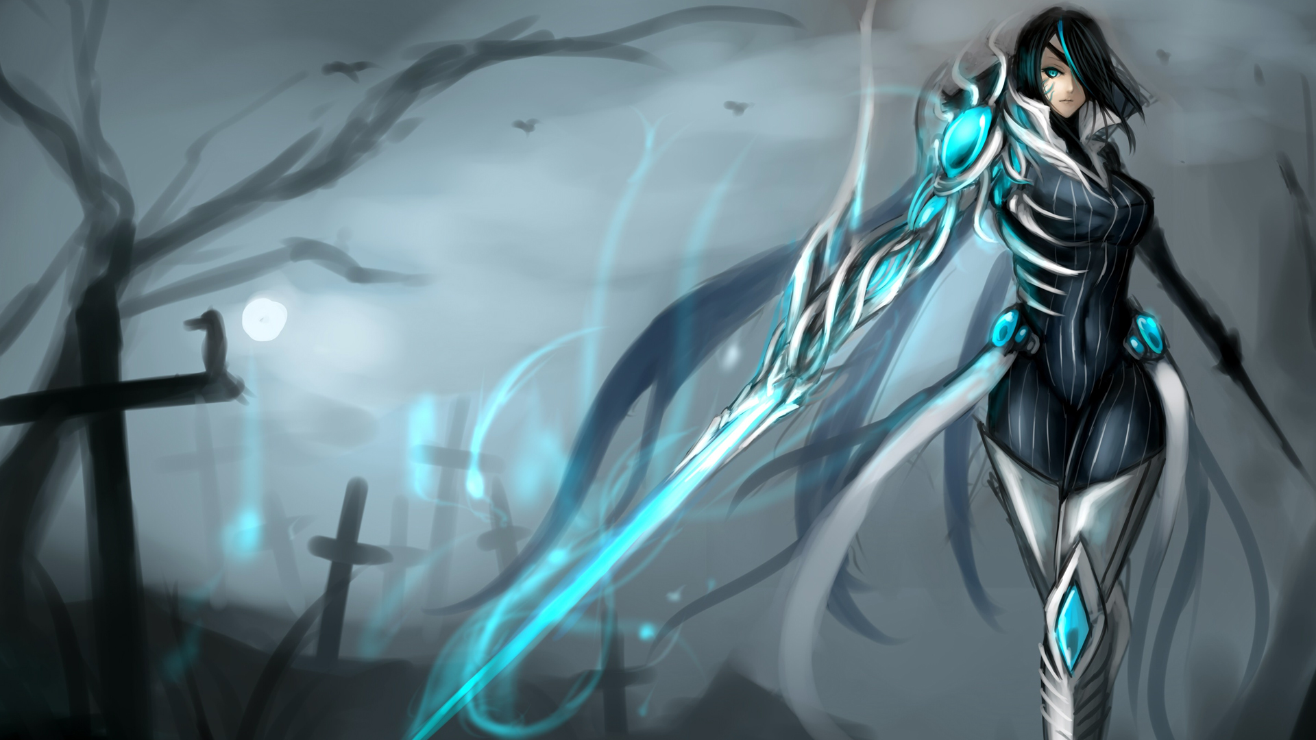 Fiora Art LoL Wallpaper HD