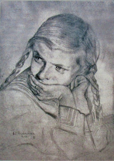 Janeczka Chrzanowska - mal. B.T. Frydrysiak 1944