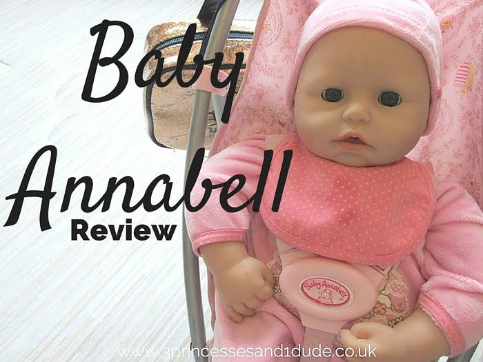 3 Princesses and 1 Dude!: Looking After A Baby (Annabell ...