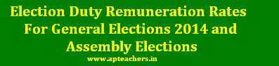 Election Duty Remuneration Rates 2014 General Elections