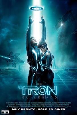 TRON Legacy TR2N (Tron 2) 2010 DVD R1 NTSC Latino