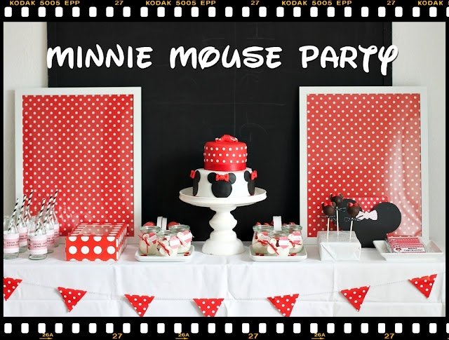 Minnie Maus Party