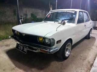 LAPAK SEDAN RETRO JEPANG : Dijual Mazda Capella 1976 - JAKARTA