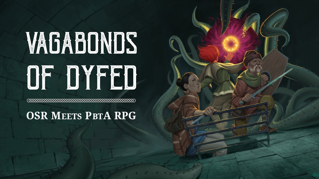 Tenkar's Tavern: Kickstarter - Vagabonds of Dyfed RPG: OSR