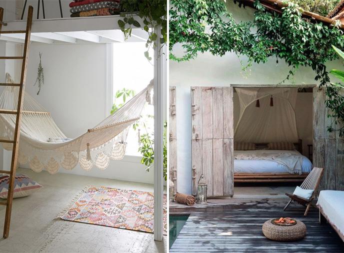 decoration chambre hippie chic