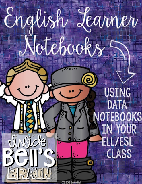 English Learner Notebooks: Using Data in Your ELL/ESL Classroom
