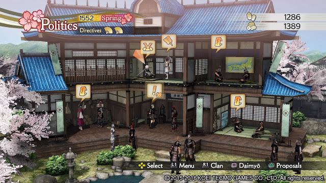 Review – Samurai Warriors 4 Empires castle
