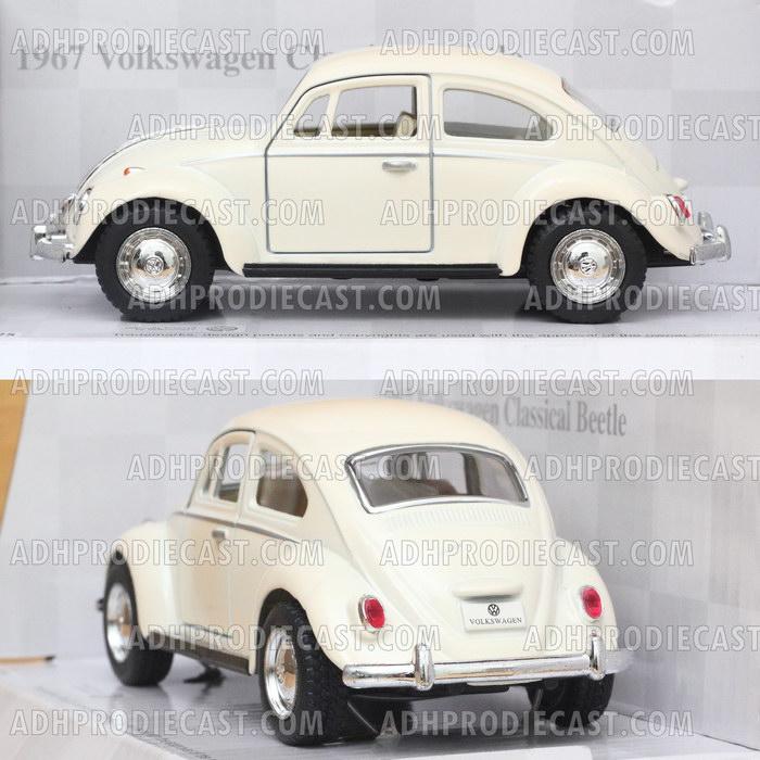 Miniatur Mobil VW Beetle / Kodok 1967