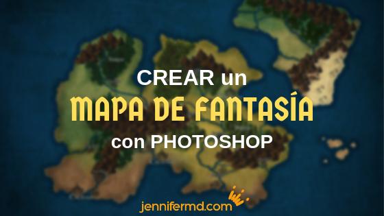 Cómo crear un mapa de fantasía con Photoshop
