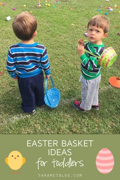 Easter Basket Ideas & Easter Egg Fillers for Toddlers and Preschoolers