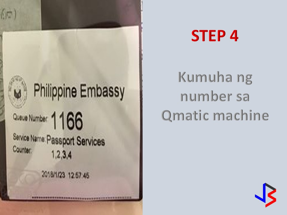 "Good news for all OFWs, you will have your passport for 10 years now. More years for the same price. That is what our new passport offers to our dear OFWs in Saudi and other countries. To know the details to renew your passports please follow these steps.  STEP 1: Get an online appointment thru the Philippine Embassy website. CLICK HERE   In order for you to go thru the process, you must provide a valid email address. If you are registered before click login or for a new applicant you can click the REGISTER icon. Fill up the entry in the registration.  STEP 2:  A confirmation will be sent to your email. It is important to print it. You will present it once you enter the main entrance to the embassy.  STEP 3: Go to Philippine Embassy at least an hour before your appointment. ""The earlier, the better"" will not be a guarantee that you will be accommodated soon. So just be at the embassy at least 30 minutes to an hour. A reminder that a photocopier will not be always available at the site. Prepare a copy of the first page of your passport at least 2 copies. Your iqama will be needed if additional identification is needed.  Form for passport renewal can be-be downloaded at this LINK Once you entered the Embassy, get a queue number at the information area.  This will determine the amount of time you have to wait. But before you proceed with your passport application, a counter for registration for Absentee Voters is on the side. All passport applicants are required to register. If you are a voter from the recent 2106 Presidential election, the chance of having your voter ID is ready. This is how it looks like. STEP 4: Finally it's your turn. The waiting time varies from an hour to four hours.  Once your number was called proceed to the counter you are assigned. Just a few things to remember before your photo shoot. No earings should be worn during the shoot. No to a big smile, though you are allowed to show your teeth. Remember this will be your photo on your passport for ten years.  STEP 5: PAYMENT- After the encoding, receipt will be given and you can proceed to pay 240 SR at the cashier. The same price you pay for five years before, sweet isn't. Usually, you will wait for 345- 60 days before you get your new passport."