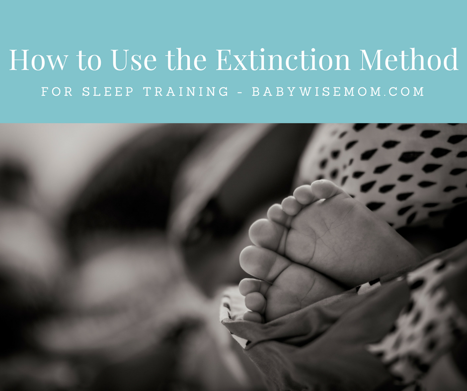 Extinction Method for Sleep Training