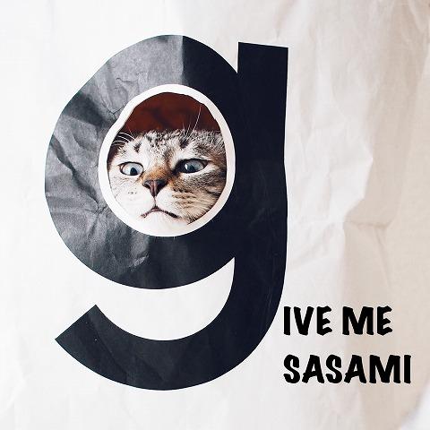 ニューシングル「Give me SASAMI」