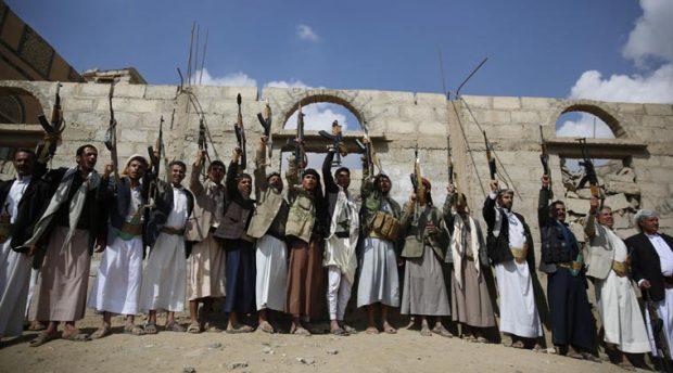 Pemberontak Syiah Hutsi Serang dan Tutup Kantor Berita di Sanaa