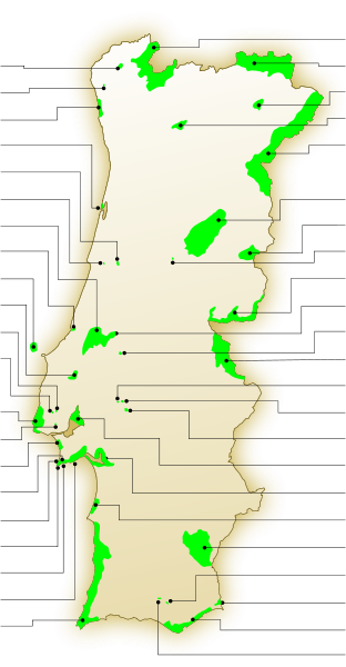Portugal - areas protegidas.svg