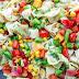 Garden Veggie Tortellini Pasta Salad #vegan #salad