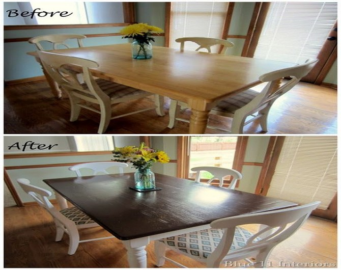Best Ideas Design kitchen table and chairs makeover