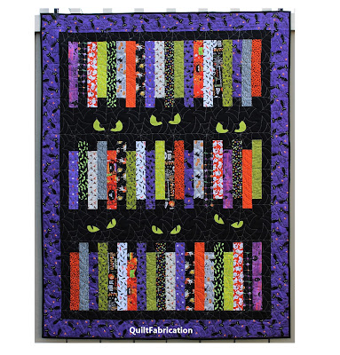 Halloween Fright Night by QuiltFabrication