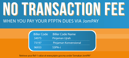 Cara Bayar PTPTN Online Tanpa Kos Transaksi