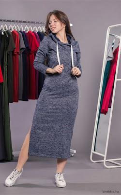 Vestidos de Moda Largos Casuales