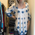 Indigo Windowpane Tunic