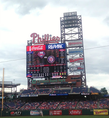 Philadelphia Phillies MLB Game in Philly Pennsylvania