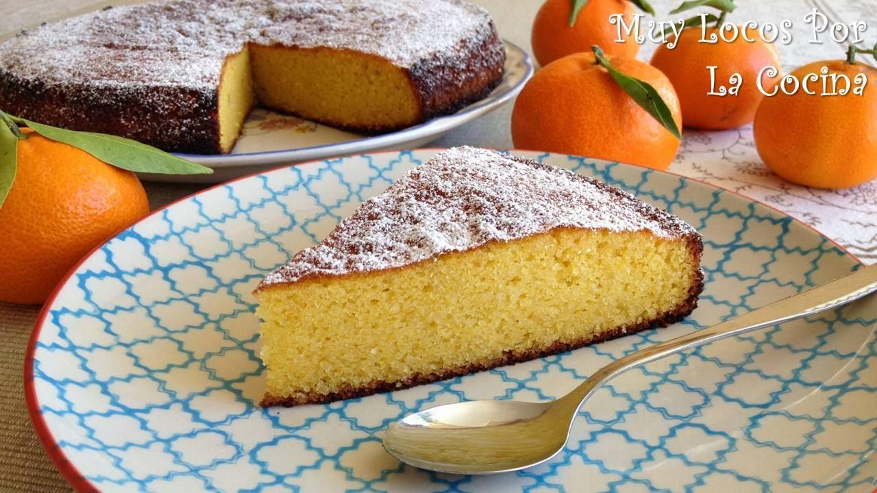 Torta de Almendra y Clementina (sin harina)
