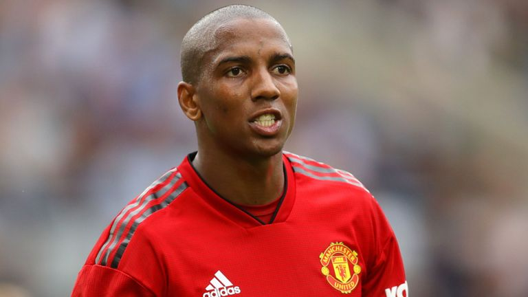 See What Ashley Young Said After Man United Failed To Qualify For Champions League