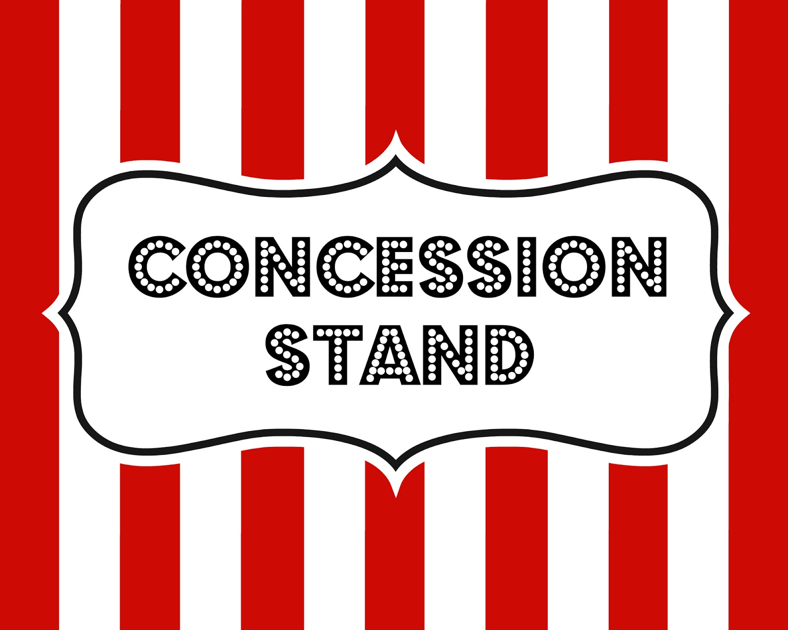 Juicy image intended for concession stand signs printable