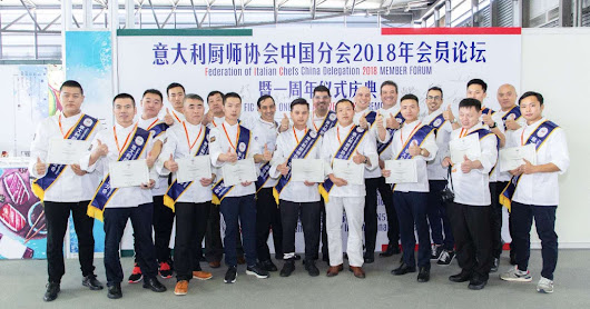 Nominati i Best Chef 2018 all'anniversario FIC China a Shanghai