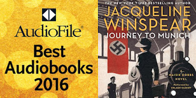 Orlagh Cassidy Best Voice 2016 AudioFile Magazine Journey To Munich Jacqueline Winspear Maisie Dobbs Series