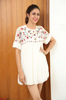 Lavanya Tripathi in Summer Style Spicy Short White Dress at her Interview  Exclusive 260.JPG