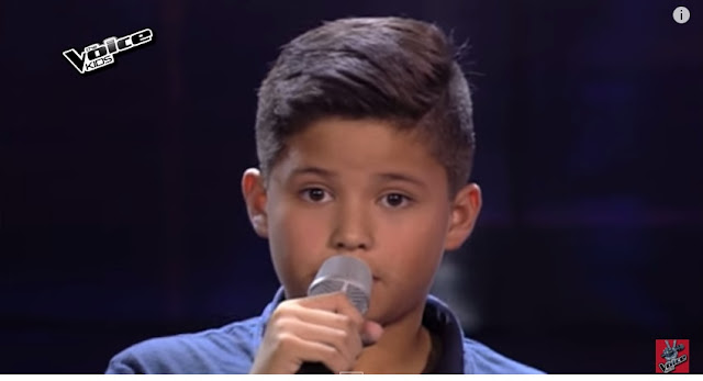 "Kyle Echarri performs ""Night Changes"" on The Voice Kids Season 2"