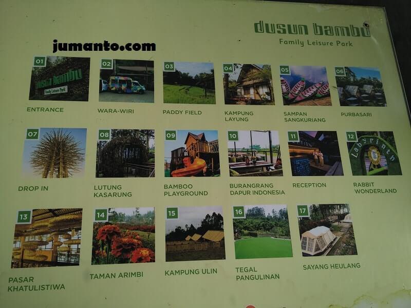 fasilitas dusun bambu lembang bandung