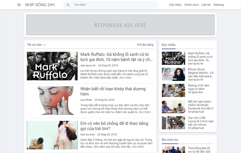 Việt Blogger Personal Template