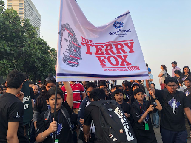 Terry Fox Marathon of Hope has been raising crores for the 20 years for cancer research for children