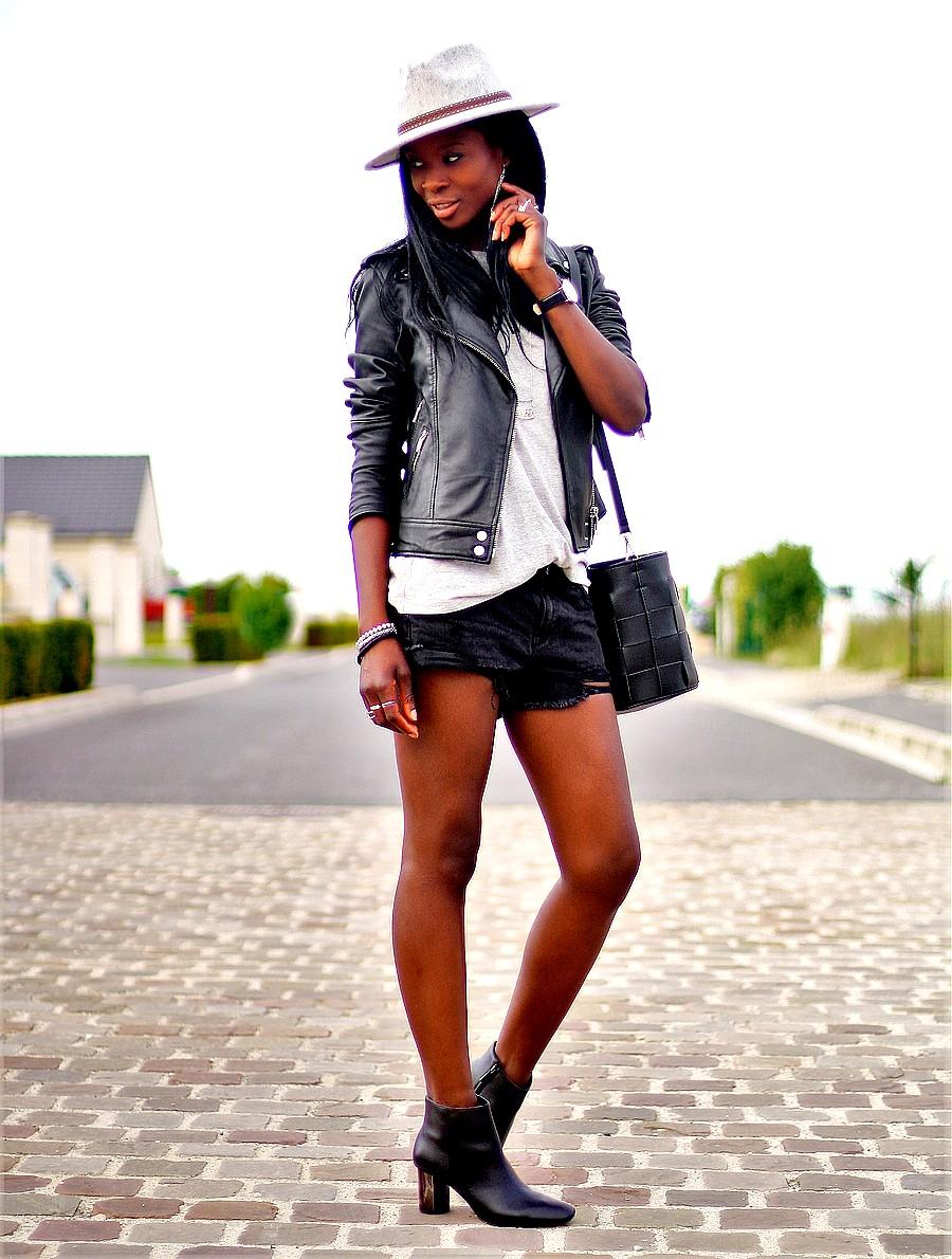 chapeau-western-boots-chelsea-short-jeans-destroy