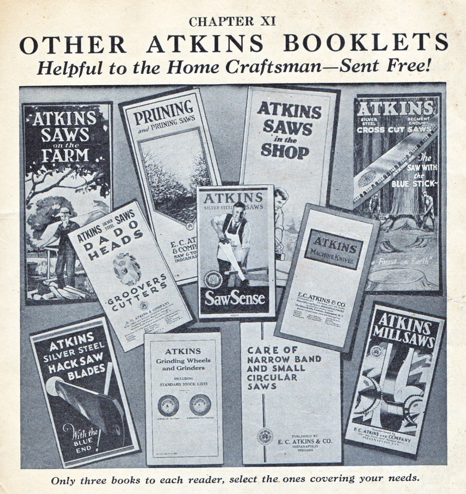 Atkins Saw Identification