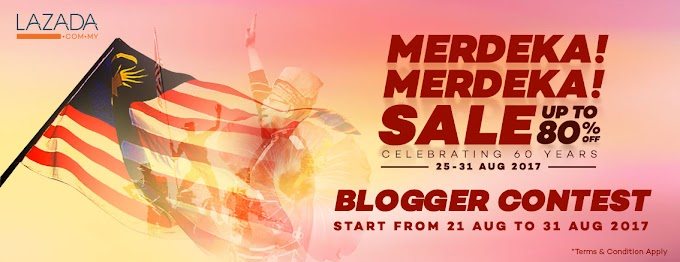 Merdeka! Merdeka! Blogger Contest Lazada
